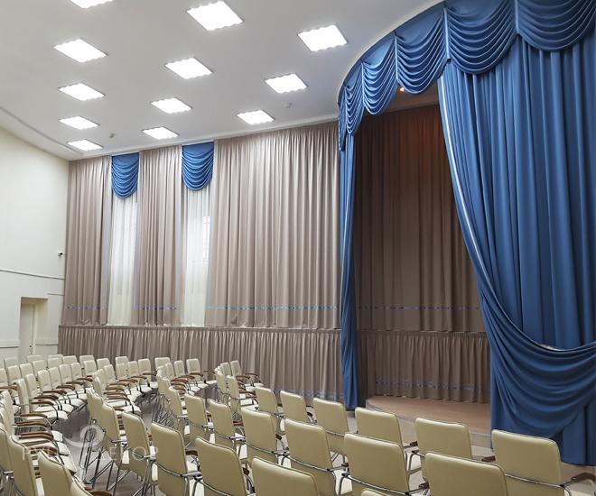 Оформление актового зала 02