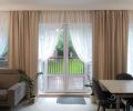 Текстильный декор гостиной 01
