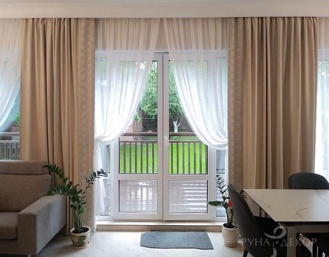 Текстильный декор гостиной