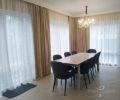 Текстильный декор гостиной 04